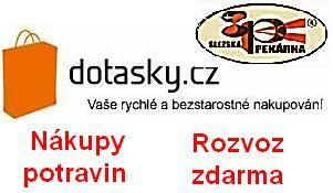 Nákupy potravin - Rozvoz zdarma - Slezská pekárna